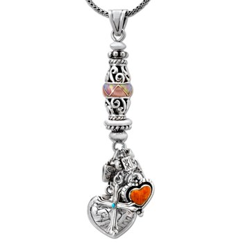 Heart & Cross Pendant-337550
