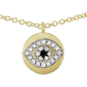 Evil Eye Necklace-341768