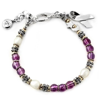 General Cancer Awareness Bracelet-159326