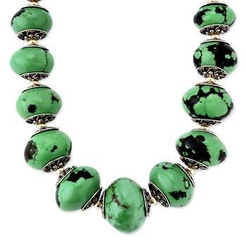 Green Turquoise Necklace-343085