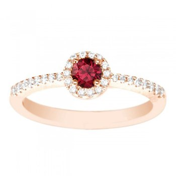 Ruby & Diamond Ring-347471