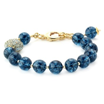 344547-Lollies Blue Quartz Bracelet