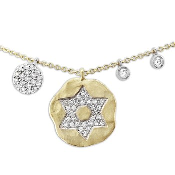 Star Of David Necklace-341769