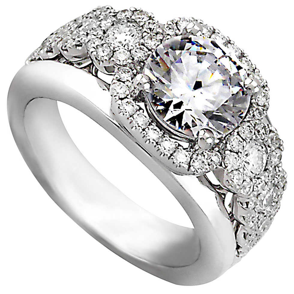 334698-Frederic Sage Bridal Ring