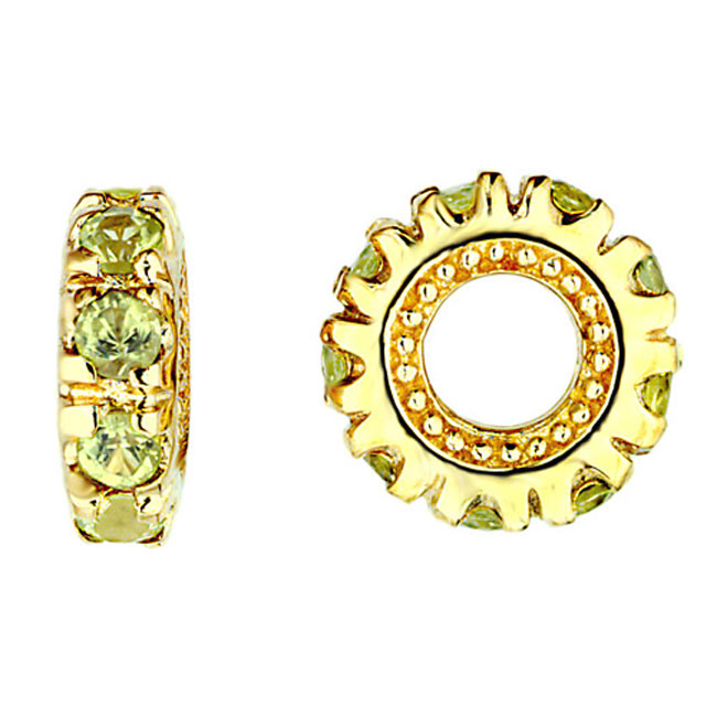 266079-Storywheels Peridot 14K Gold Wheel RETIRED ONLY 1 LEFT!