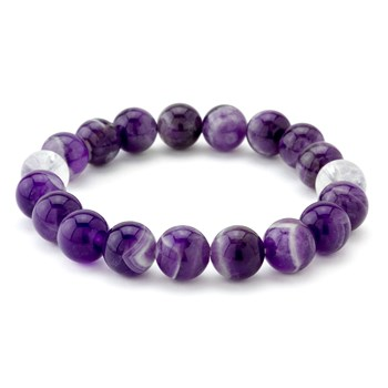 Purple Stretch Bracelet-655-3306