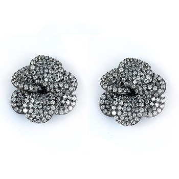 Plumeria Stud Earrings 347362
