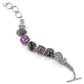 336626-Lori Bonn Center of Attention Charm Bracelet ONLY 1 LEFT!