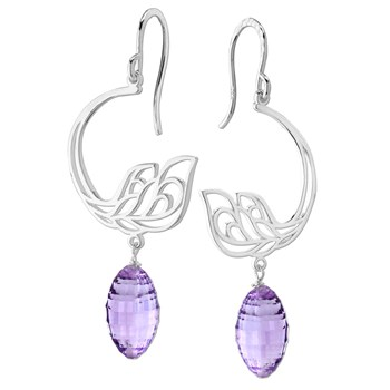 210-380-Light Amethyst Earring