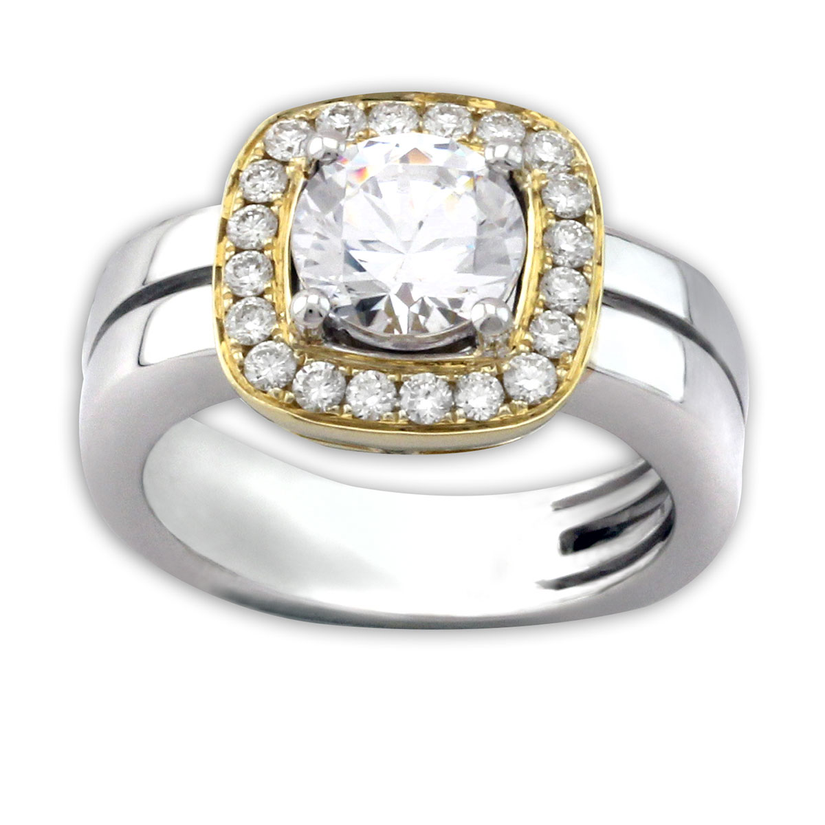 334696-Frederic Sage Bridal Ring