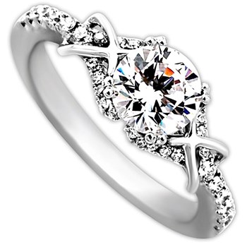 Frederic Sage Bridal Ring-340930