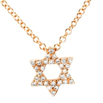 Star of David Necklace-341855