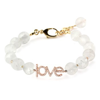 345917-Lollie Clear Quartz Love Bracelet