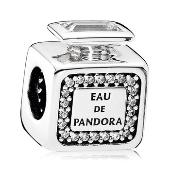 PANDORA Signature Scent with Clear CZ Charm