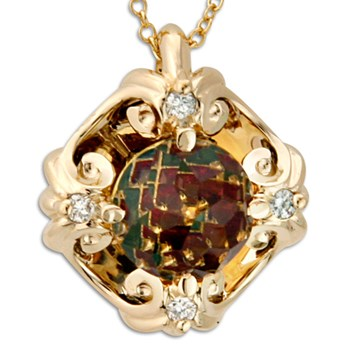 Galatea Citrine Necklace-334375