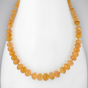 Imperial Topaz Necklace-313216