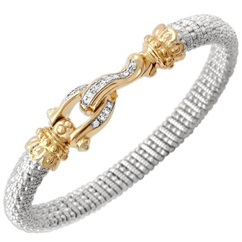 340759-Buckle Diamond Bracelet