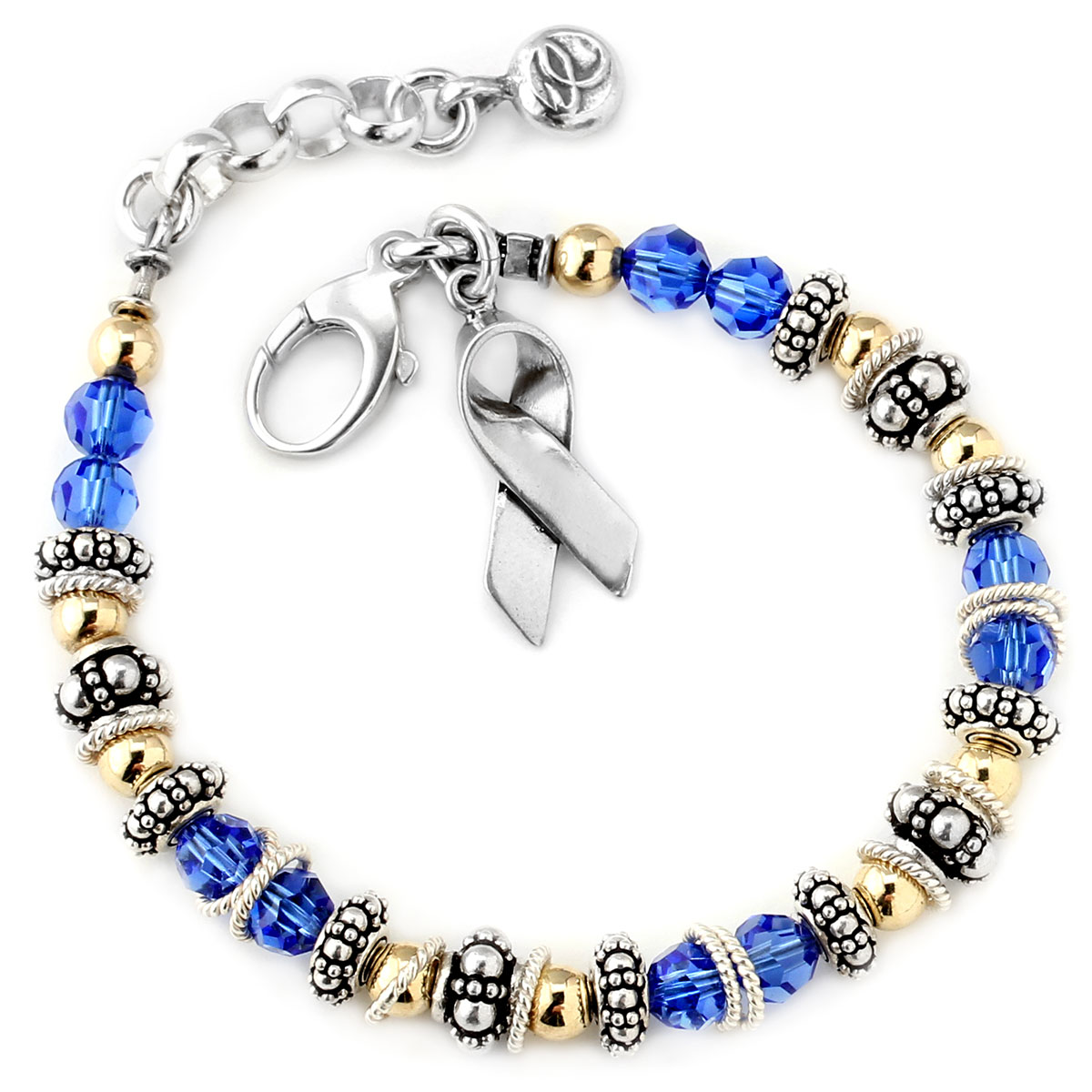 203005-Colon Cancer - Spectacular Awareness Bracelet
