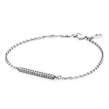 PANDORA Hearts of PANDORA with Clear CZ Bracelet
