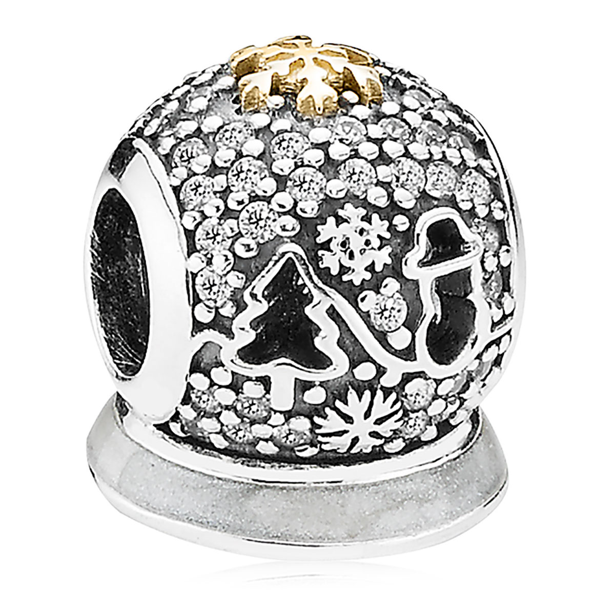 PANDORA Limited Edition 2015 Wonderland Holiday Charm with Gift Box