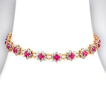 328487-Ruby & Diamond Bracelet
