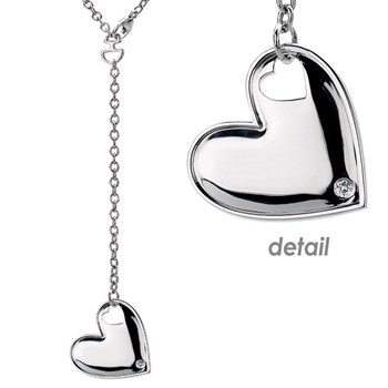 Hot Diamonds Love Letters Heart Lariat Pendant -334120