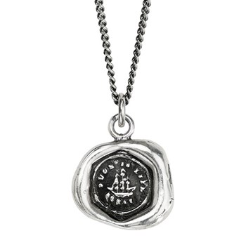 605-01303-Ship Talisman Necklace
