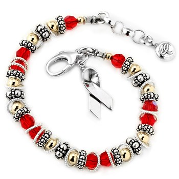 217064-Lymphoma Cancer - Spectacular Awareness Bracelet