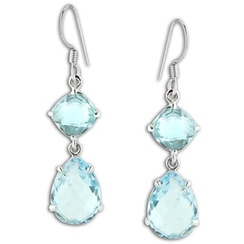 347431-Blue Topaz Earrings