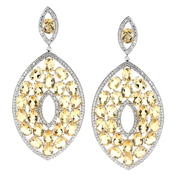 347225-Citrine Earrings