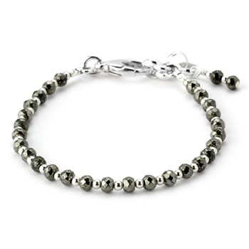 Pyrite and Sterling Silver 344971
