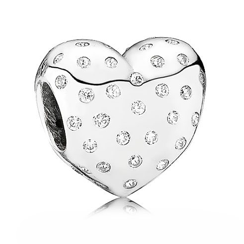 346974-PANDORA Sparkle of Love Heart with Clear CZ Charm