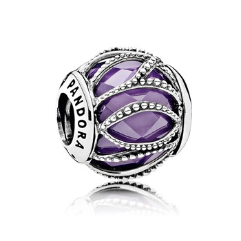 PANDORA Intertwining Radiance with Purple & Clear CZ