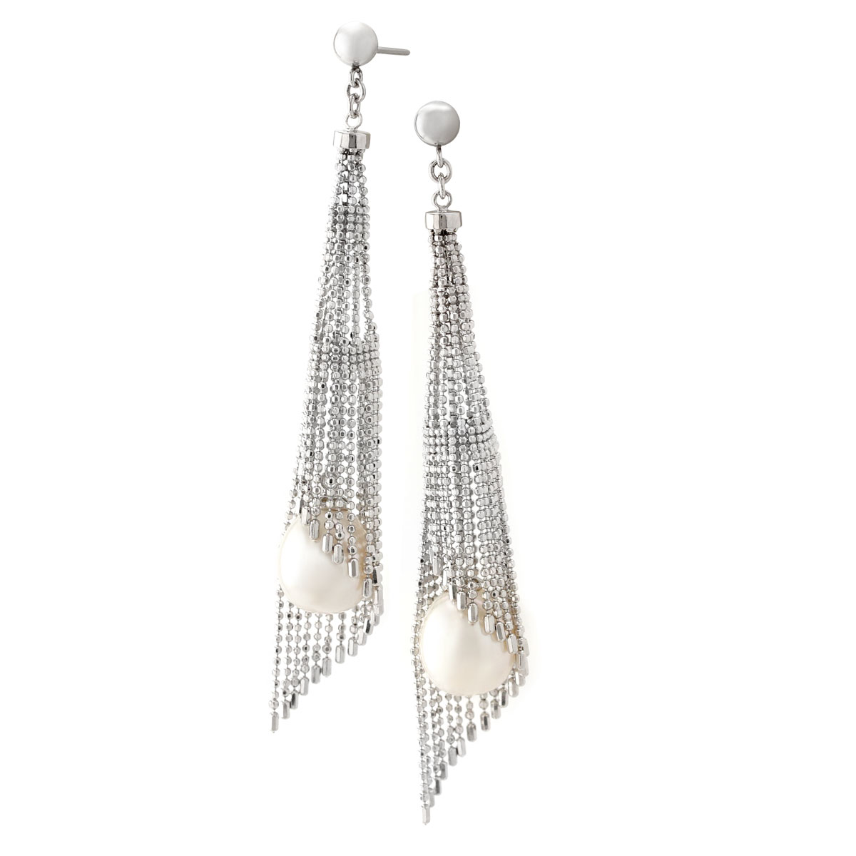 341330-Cascading Pearl Earrings
