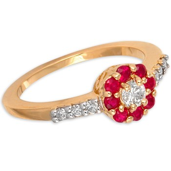 292863-Ruby & Diamond Ring