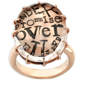 Under Promise Over Deliver Ring-341307