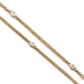 Yellow Gold and Diamond Chain-343331