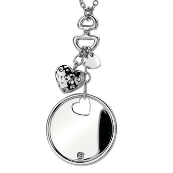 Hot Diamonds Love Letters Disc Cluster Pendant-334119