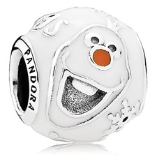 802-3061-PANDORA Disney Olaf with Enamel Charm