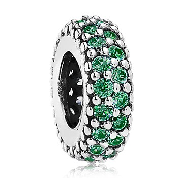 802-3005-PANDORA Inspiration Within Dark Green CZ Spacer