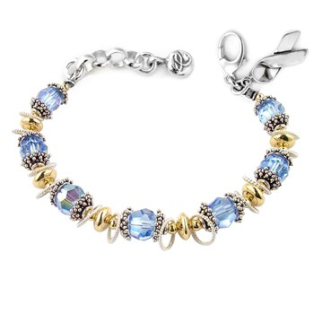 Prostate/Thyroid Cancer Awareness Bracelet-179300