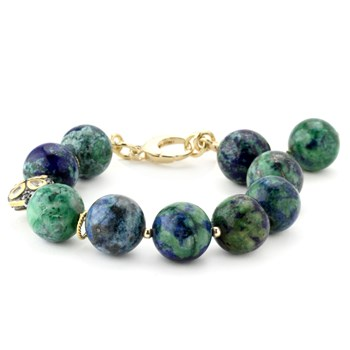 Lollies Azurite & Malachite Bracelet 344576
