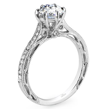 "Parade ""Hera"" Semi-Mount Diamond Ring-348411"