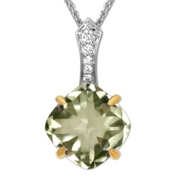 Limon Jelly Bean Necklace-336537