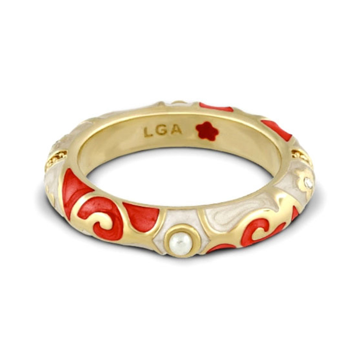 Red 'Fiesta' Ring