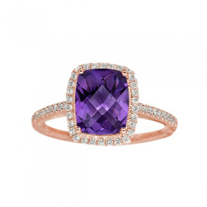 347472-Amethyst and Diamond Ring