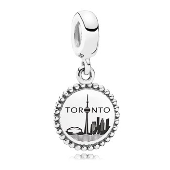 PANDORA Toronto Traveler Dangle RETIRED