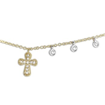 Cross Necklace-341762