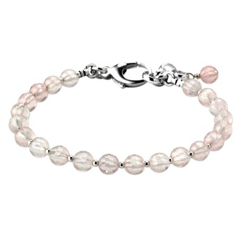 Lollies Rose Quartz Bracelet 345019