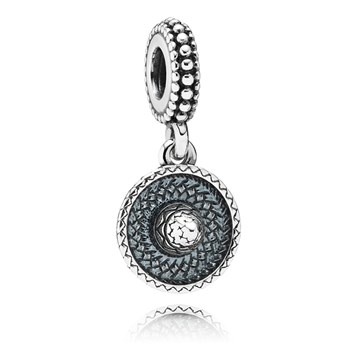 PANDORA Sombrero Dangle RETIRED ONLY 2 LEFT! 347995